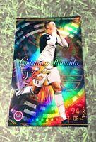 Panini Footista 2020 Cristiano Ronaldo Refractor card Juventus Portugal  WCCF