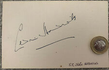 More details for sir cedric hardwicke actor autograph on postcard