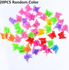 20pcs Wholesale Girls Barrettes Headdress Hairpin Mini Butterfly Hair Claw Clips