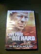 2 Bruce Willis Dvds ~ Die Hard 4: Live Free or Die Hard & Vice