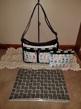 LeSportSac / Fifi Lapin Deluxe Everyday Bag Crossbody w/ Pouch- Vaudeville Print