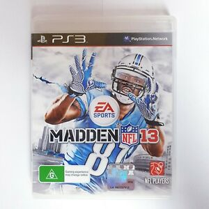 Madden NFL 2013 - Sony Playstation 3 PS3 - Free Postage + Manual EA Sports