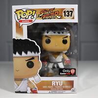 Funko Pop! RYU #137 Street Fighter GameStop Exclusive Vinyl Figure ⭐️