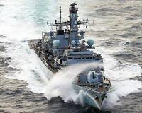 ROYAL NAVY HMS ST. ALBANS 8x10 SILVER HALIDE PHOTO PRINT