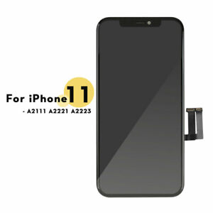 For iPhone 11 Black Replacement LCD Touch Screen Display Digitizer + Frame UK