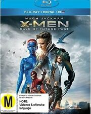 Blu-ray Xmen Days of Future Past Hugh Jackman Marvel BR Digital UV RegionB BNS