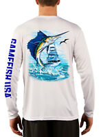 UPF 50 Microfiber Moisture Wicking Long Sleeve Performance Bass O Fishing Shirts