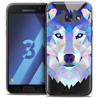 Coque Housse Etui Pour Samsung Galaxy A3 2017 (A320) Polygon Animal Rigide Fin L