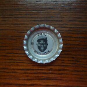 1968 Coke Coca Cola ATLANTA BRAVES HANK AARON Bottle Cap B3 RARE UNUSED