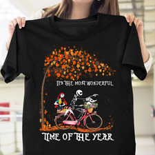 Jack Skellington And Sally It's The Most Wonderful Time Of The Year T-shirt