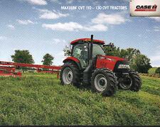 """CASE IH """"MAXXUM CVT"""" 110 - 130 CVT Tractor Brochure Leaflet"""