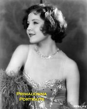 NANCY CARROLL 8X10 Lab Photo B&W 1930s BEJEWELLED ENCHANTRESS PORTRAIT