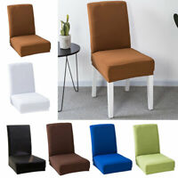 ALS_ Modern Stretch Slipcover Home Hotel Banquet Dining Table Seat Chair Cover H