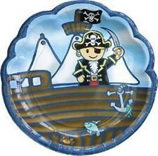 Lovely Chubblies 8 Pack  Pirate Paper PARTY Plates New