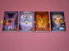 Warrior Cats 2.Staffel Die neue Prophezeiung 4 Bände (Erin Hunter) _ Gebunden