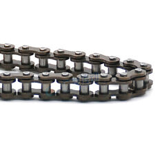 """04C #25 Roller Drive Chain Pitch 1/4"""" 6.35mm Steel Transmission Chain 0.5/5Metre"""