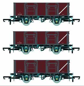 Accurascale ACC1091-MDVB BR 21T COAL21VB/MDV Mineral Wagon Pack Bauxite Pack B