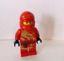 Lego Ninjago Kai DX The Red Ninja Dragon Suit  Minifigure Moni Figure