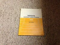 1989 Toyota Van Electrical Wiring Diagram Manual LE 2.2L 4Cyl