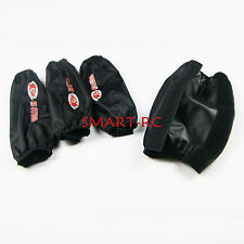Smart Black Shock outwear dust cover for Losi 5ive T Rovan LT KM X2