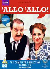 'Allo 'Allo: The Complete BBC Series 1 2 3 4 5 6 7 8 9 Box Set Collection | DVD