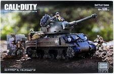 Mega Bloks Call of Duty Legends: BATTLE TANK Construction Set NEW 528 pieces