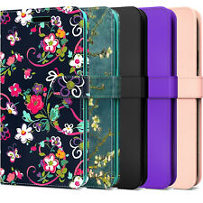 For Motorola Moto G Fast Wallet Case RFID PU Leather Card Holder Phone Cover