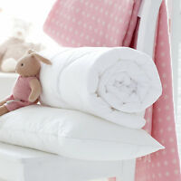 LUXURY NURSERY BABY TODDLER JUNIOR COT BED ANTI-ALLERGY DUVET QUILT OR PILLOW