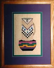 Creative Concepts CEREMONIAL JUG Cross Stitch Chart/Leaflet Only ~ folk art