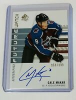 2019-20 SP AUTHENTIC FUTURE WATCH AUTO /999 CALE MAKAR 149 AVALANCHE