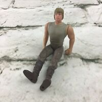 Vintage 1995 Star Wars Luke Skywalker Power Of The Force Action Figure By Kenner