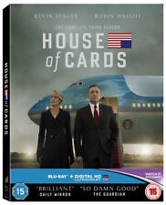 House of Cards Season 3 Blu Ray Kevin Spacey