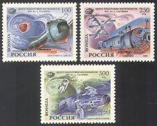 Rusia 1994 espacio/cohete/GAGARIN/Mir 3 V Set (n28407)