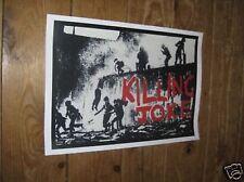 Killing Joke Punk Rock Repro Concert POSTER