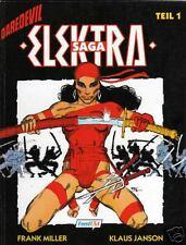 ELEKTRA SAGA deutsch FRANK MILLER (Daredevil,Sin City,300, Batman) FEEST