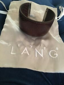 Peter Lang Leather Cuff