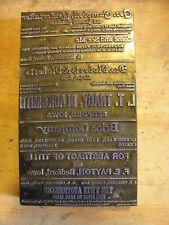 Advertisements Bedford Iowa Historic Iowa Printing Press Block