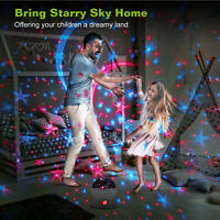 LED Music Baby Night Light Rotating Star Projector Lamp Children Starry Lighting