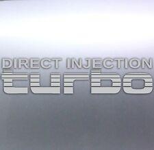Silver Direct Injection Turbo rear Sticker Landcruiser 4x4 Australia 80 Series
