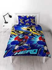Transformers Hero Housse de couette avec Taie D'oreiller enfant