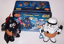Mr. Potato Head Star Wars Darth Tater & Spudtrooper Collector Set in Tin