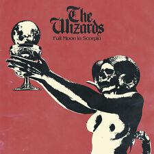 THE WIZARDS - Full Moon in Scorpio (NEW*#1 DEAF FOREVER*HARD ROCK*BLACK VINYL)