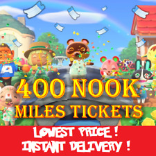 400 NOOK MILES TICKETS Animal Crossing ✈️ instant delivery !!!