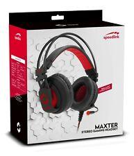 SPEEDLINK MAXTER Stereo Gaming Headset, Inline Remote + LED Illumination