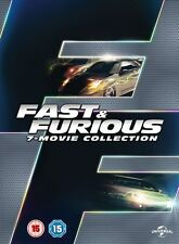 NewFast and Furious 1-7 movies DVD set - Region 2