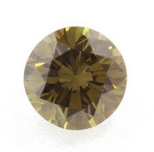 0.11 Carat Chameleon Diamond Loose Natural Color Certified Round Shape