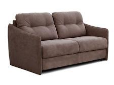 Schlafsofa mit integrierter Matratze BEEPER Sofa Couch Schlafcouch Hellbraun