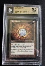 Mox Diamond BGS 9.5 Stronghold Reserve List Magic The Gathering