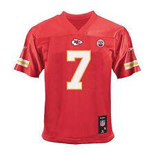 NWT NEW Kansas City Team Reebok Jersey red CASSEL #7 boy shirt sz S 4 $45