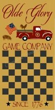 """Reusable Stencil 8961 N 12""""x24"""" Olde Glory Game Company-Mylar Sign Stencil"""